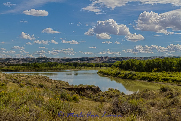 Missouri River and breaks near Slippery Ann Wildlife Viewing Area IMG_9642 ¯\_(ツ)_/¯ Please share and like the A Montana View Facebook page! Thanks so much for viewing.   visit www.amontanaview.com   #Photography #Montana #MontanaMoment #WarHorseNWR- Buy this photo at this link http://smu.gs/1ig9Bjo