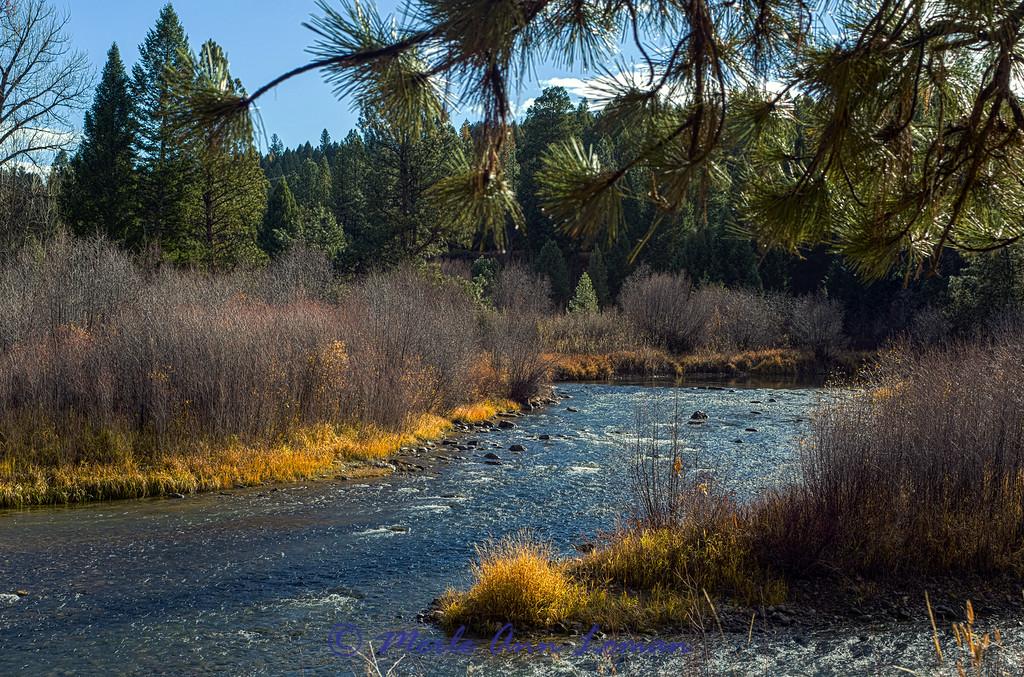 Blackfoot River in late October